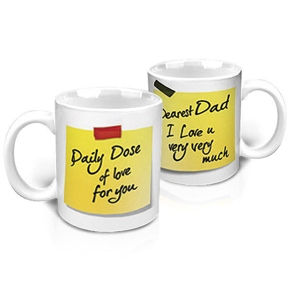 Daily Dose of Love for Dad Mug - Hot Muggs - 1