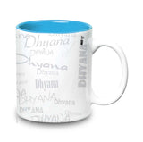 Me Graffiti-Dhyana Ceramic  Mug 315  ml, 1 Pc