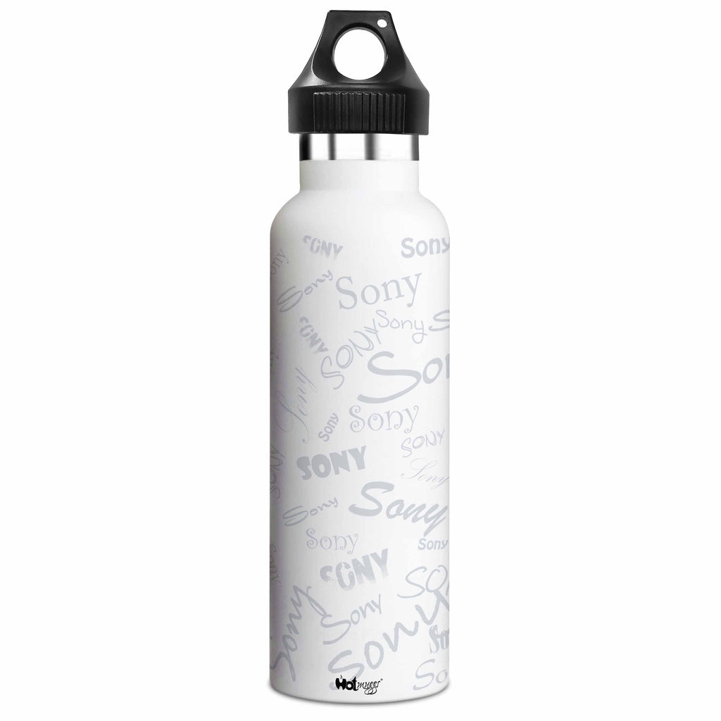 Me Insulated Graffiti Bottle - Sony Personalised Name , Steel, 500 ml, 1 Unit