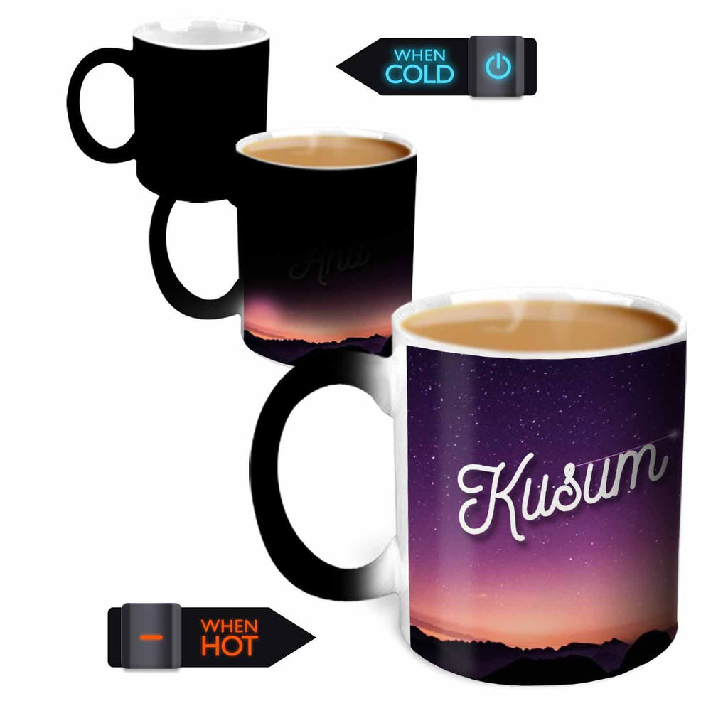 You're the Magic…  Kusum Magic  Color Changing Ceramic Mug 315ml, 1 Pc