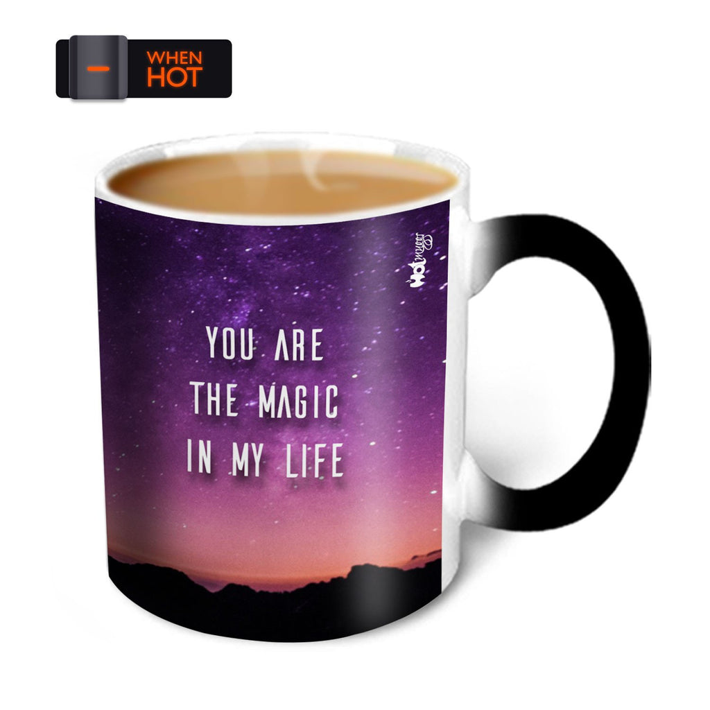 You're the Magic…  Swaranjeet Magic Mug Ceramic, 325 ml, 1 Unit
