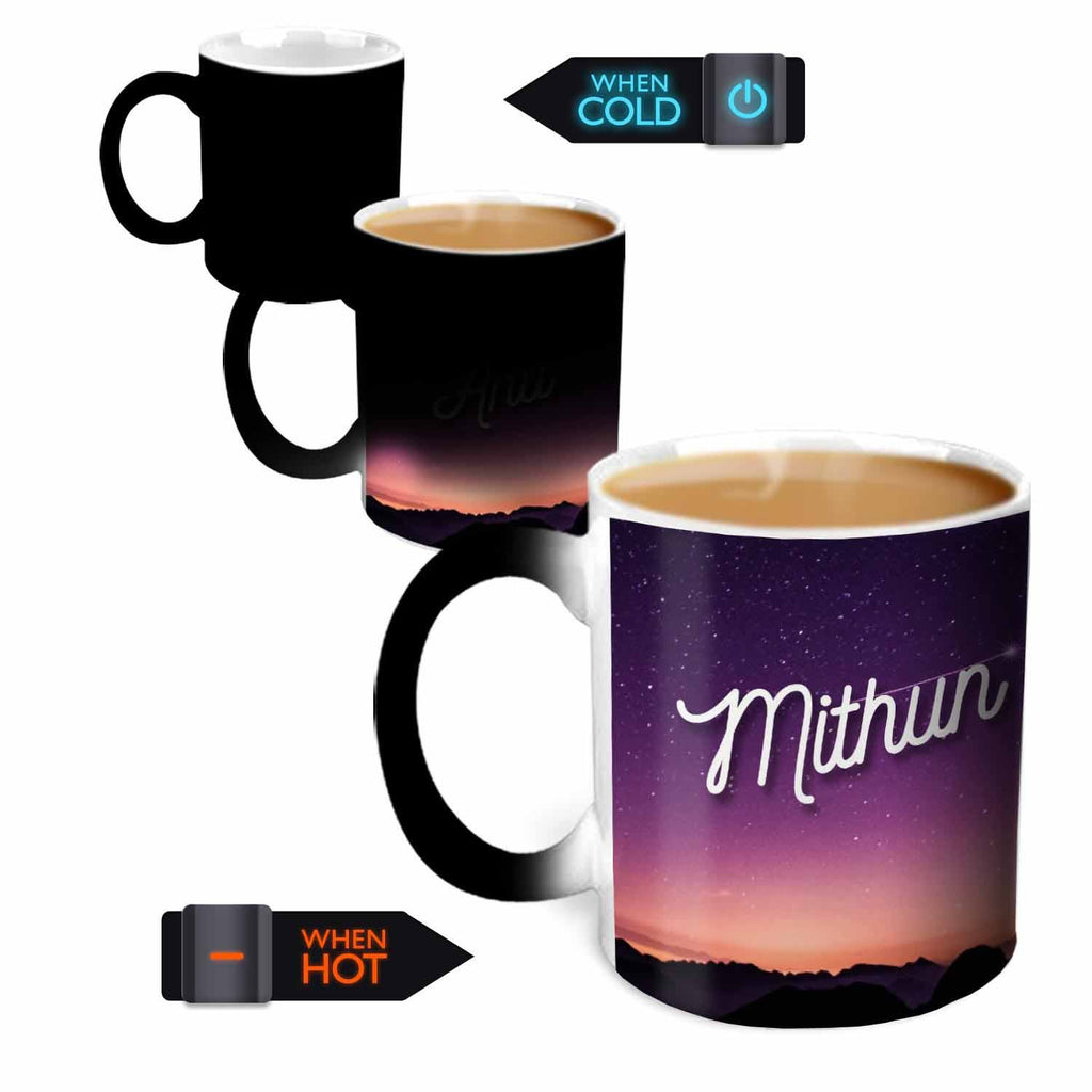 You're the Magic…  Mithun Magic  Color Changing Ceramic Mug 315ml, 1 Pc