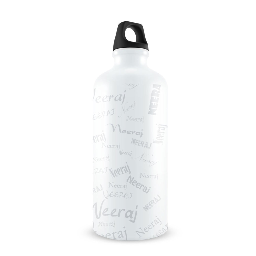 Me Graffiti Bottle - Neeraj