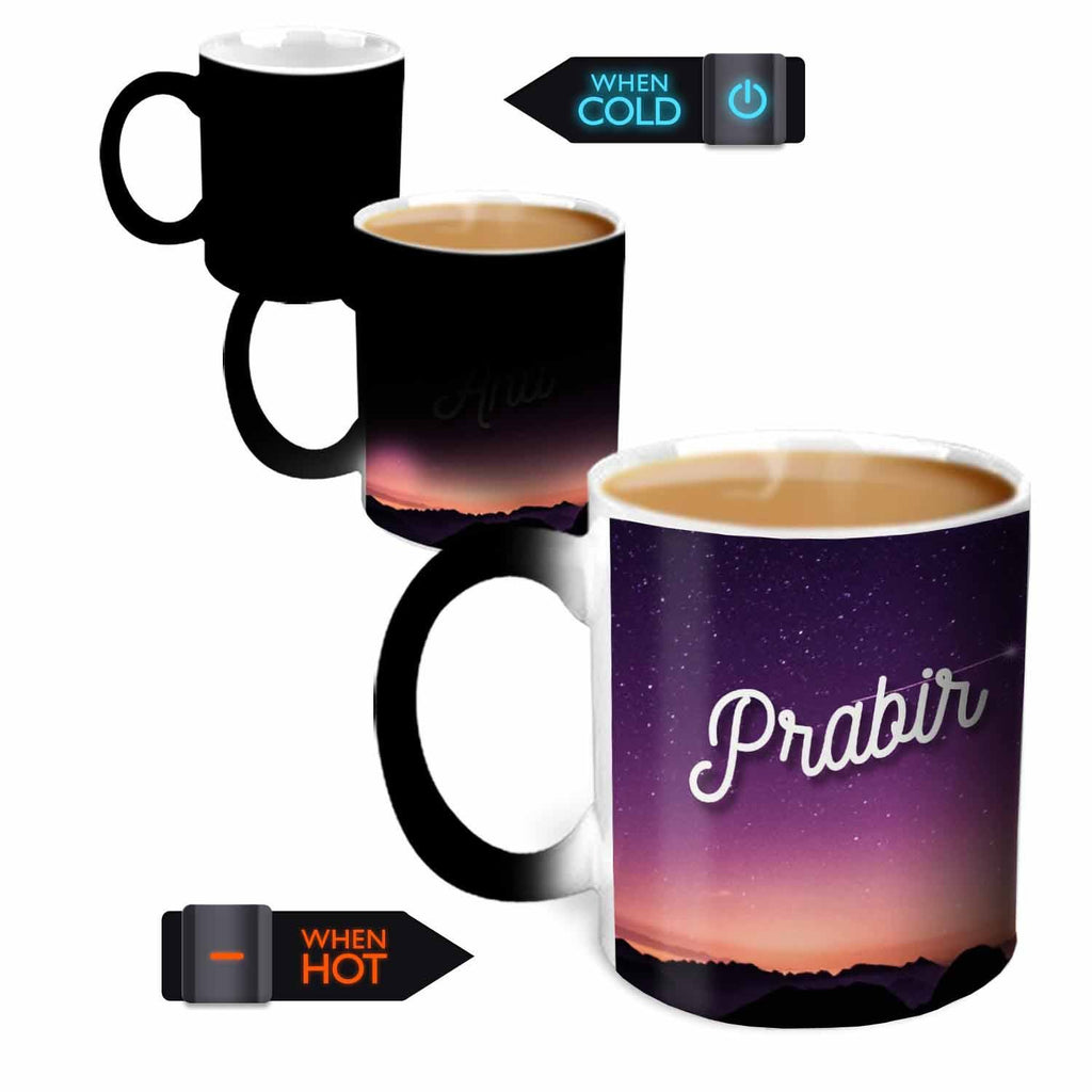 You're the Magic…  Prabir Magic  Color Changing Ceramic Mug 315ml, 1 Pc