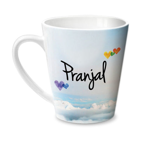 Simply Love You Pranjal Conical  Mug