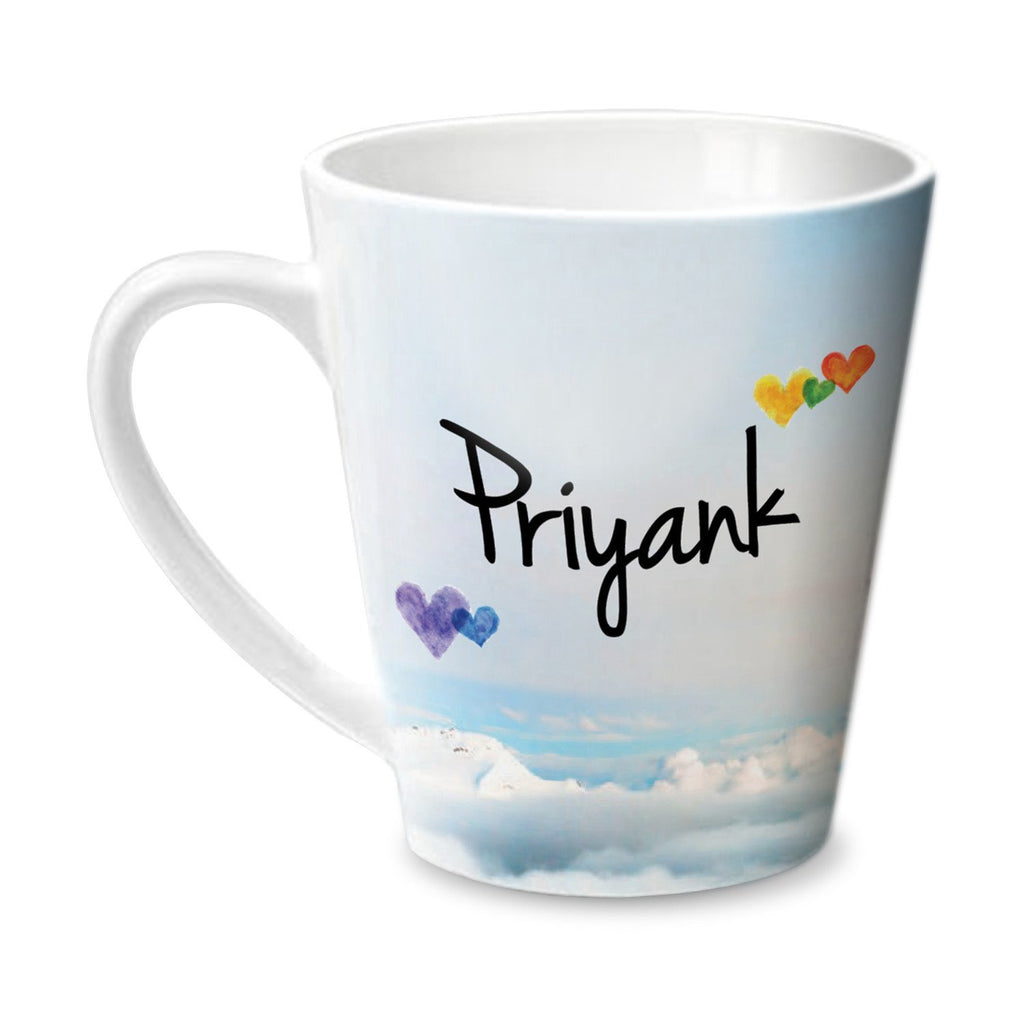 Simply Love You Priyank Conical  Mug
