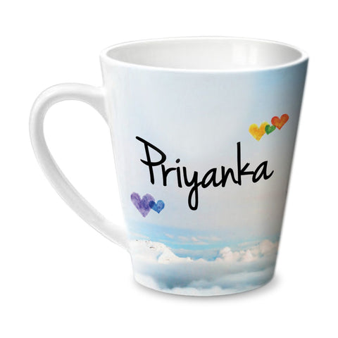 Simply Love You Priyanka Conical  Mug
