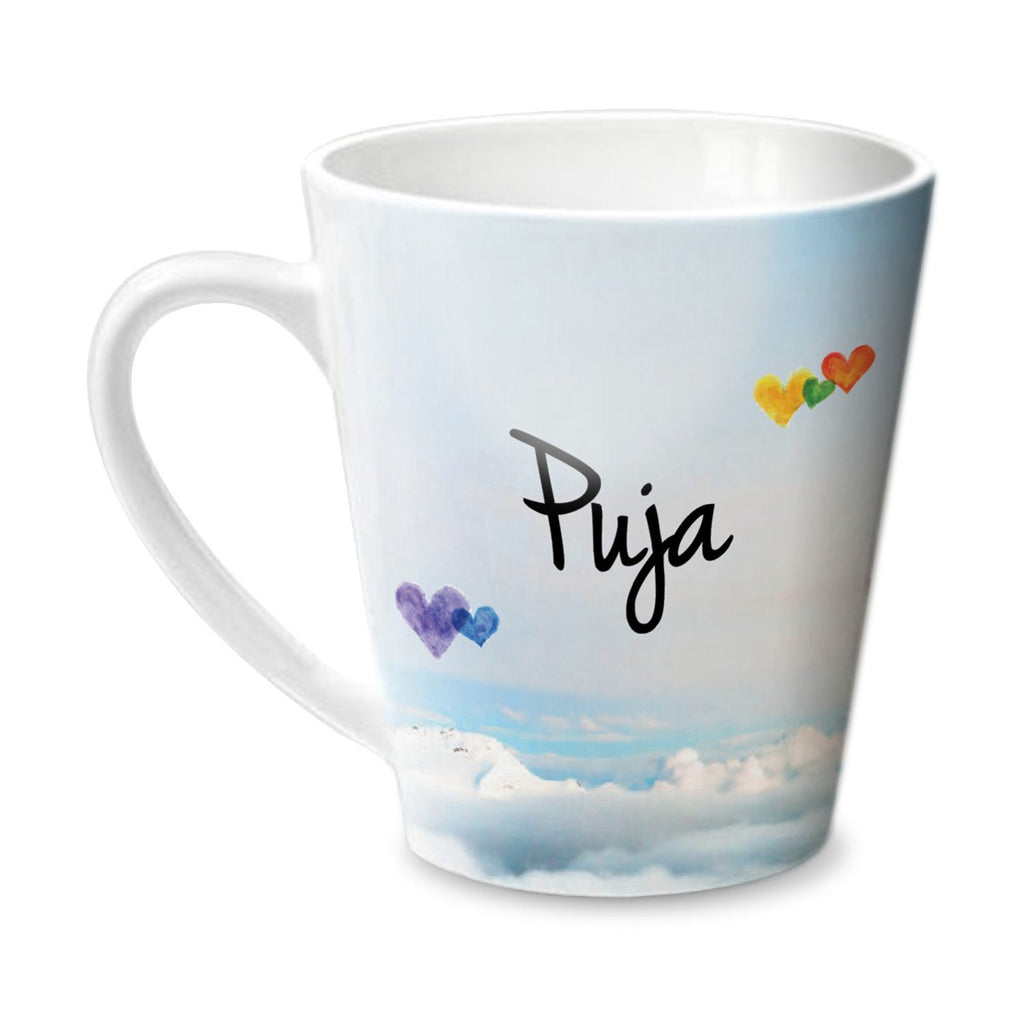 Simply Love You Puja Conical  Mug