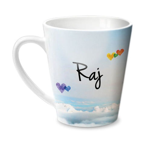 Simply Love You Raj Conical  Mug