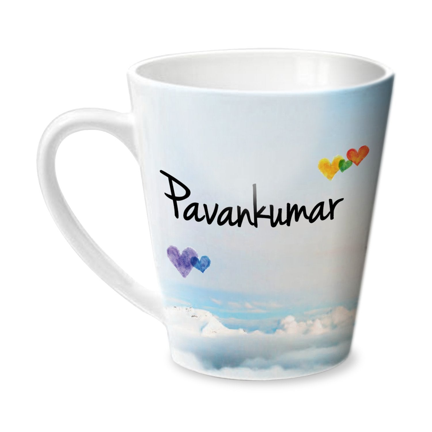 Simply Love You Pavankumar Conical Mug