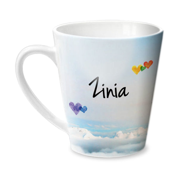 Simply Love You Zinia Conical Mug