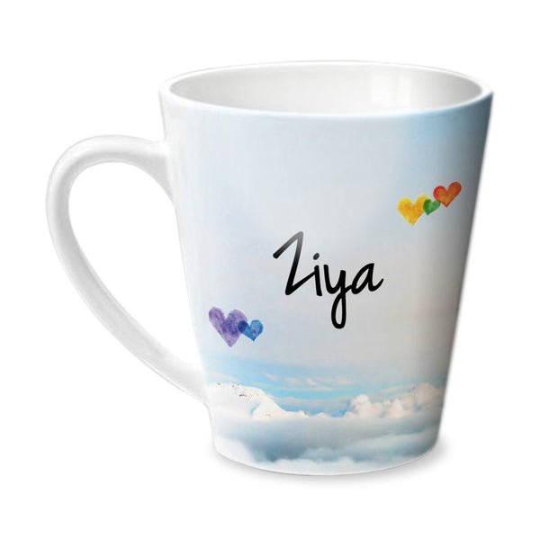 Simply Love You Ziya Conical Mug