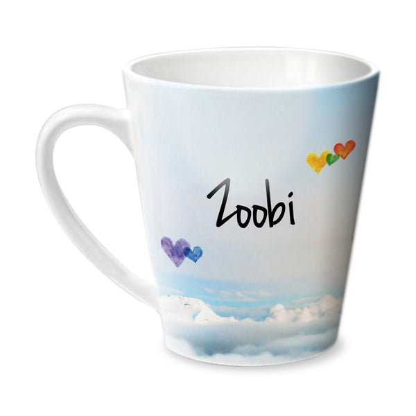 Simply Love You Zoobi Conical Mug