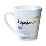 Simply Love You Zoyashahan Conical Mug