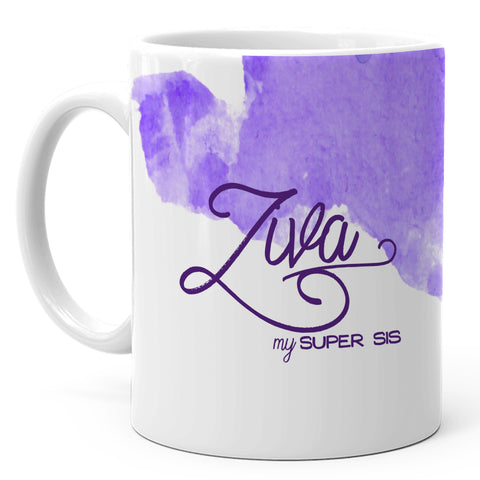 Ziva - My Super Sis Ceramic Mug, 350ml, 1 Pc