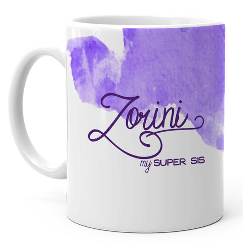 Zorini - My Super Sis Ceramic Mug, 350ml, 1 Pc