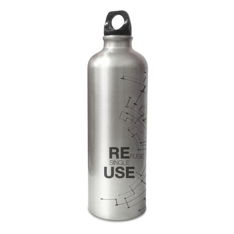 Refuse Single Use Stainless Steel Bottle 750 ml , 1 Pc