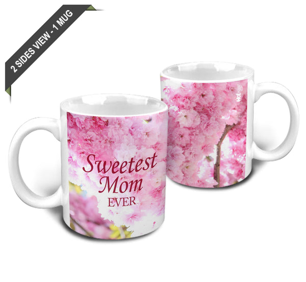 Sweetest Mom Ever Mug - Hot Muggs - 2