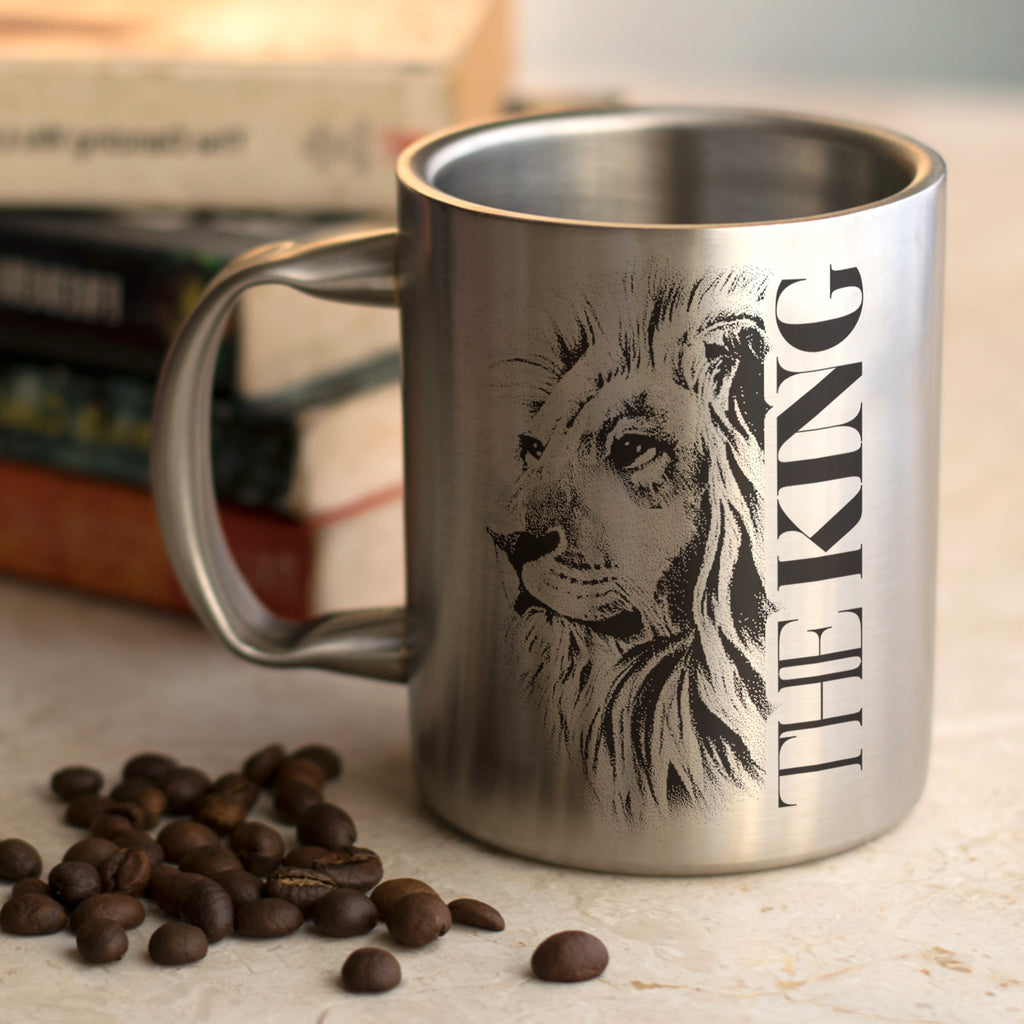 The King Mug Steel, 265 ml, 1 Unit