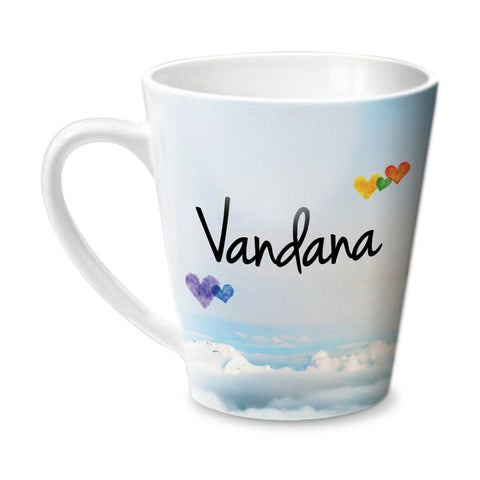 Simply Love You Vandana Conical  Mug