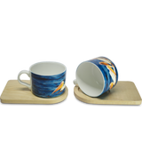 Where Friends- Cup & Coaster(Set of 2)