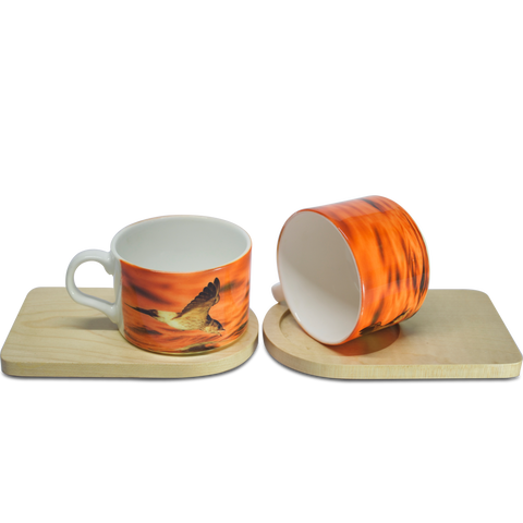 Supper Time - Cup & Coaster(set of 2) - Hot Muggs