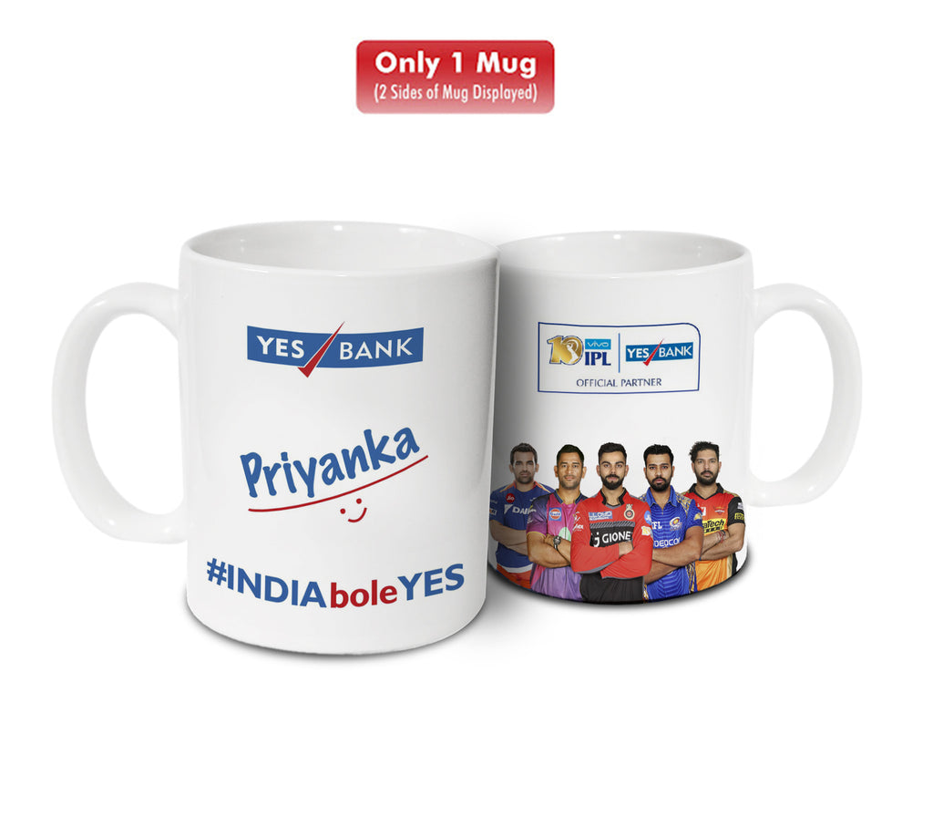YES BANK Coffee Mug