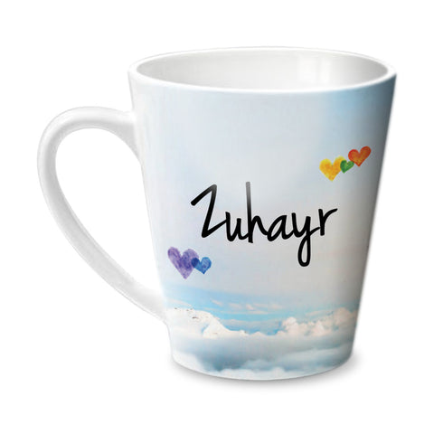 Simply Love You Zuhayr Conical  Mug - Hot Muggs - 1