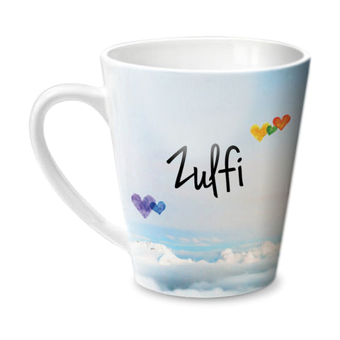 Simply Love You Zulfi Conical  Mug - Hot Muggs - 1