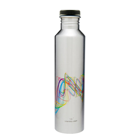 Classic Fridge Stainless Steel Bottles, 1 litre, 1 Piece