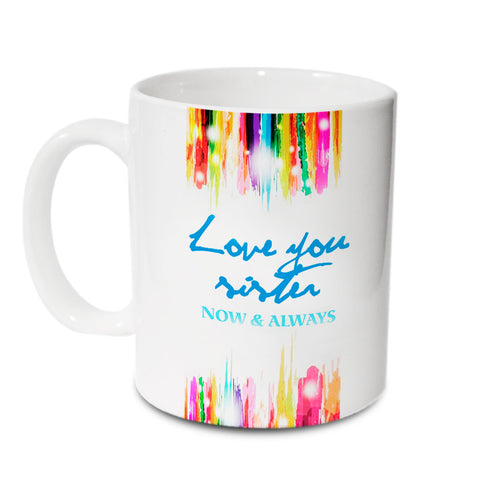Love You Sister Mug - Hot Muggs