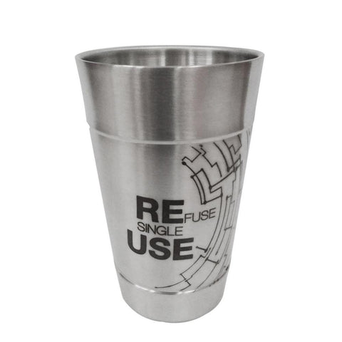 Refuse Single Use tumbler