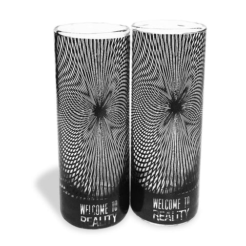 Kaleidoscope Shooter Glass (Set of 2) - Hot Muggs