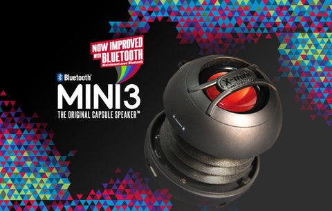 MINI 3 THE ORIGINAL CAPSULE SPEAKER™  | Bluetooth Portable Speaker - X-mini Official Online Store  - 1