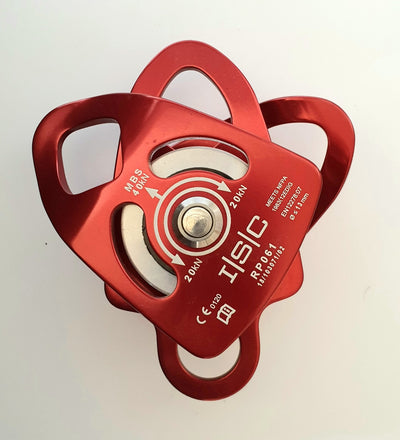 ISC Small Double Pulley w'becket