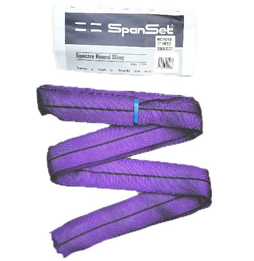 Spanset Spectre 1 Ton Purple Round Slings