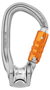 Petzl ROLLCLIP Z Triple Action Pulley Karabiner