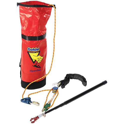 Gotcha Post Fall Rescue Kit- 50m Rope
