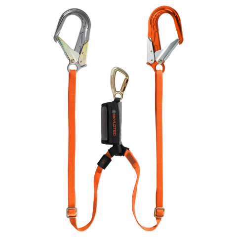 Skylotec Pro Adjustable Twin Fall Arrest Lanyard