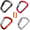"Kong 911 XL Alloy Big ""D"" Shape Karabiner"