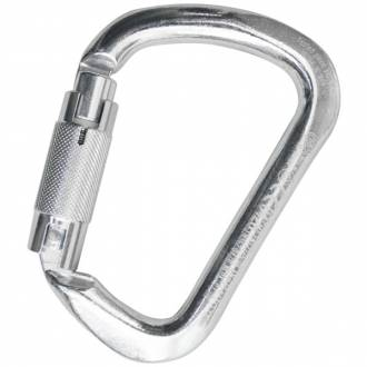 "Kong Stainless Steel Big ""D"" Karabiner 35kN"