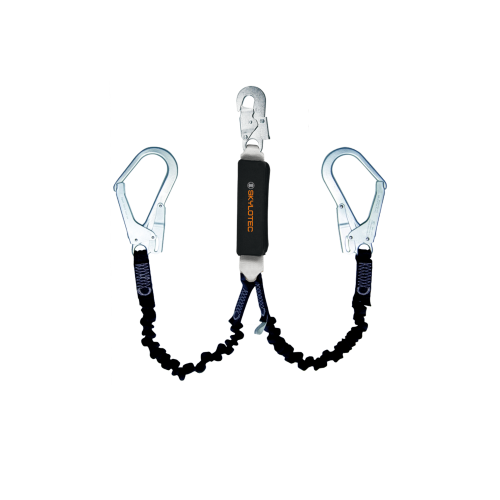 Skylotec BFD Y Flex Twin Fall Arrest Lanyard