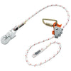 Skylotec SK12 Ergo Grip Adjustable Lanyard- Steel Hooks