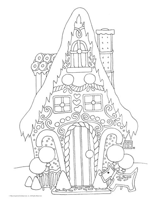 Coloring Page Downloads Mary Engelbreit