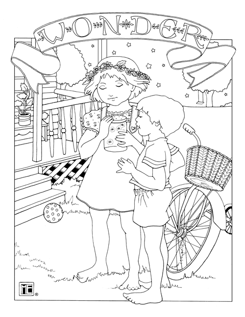 Christmas Mice free coloring page from Mary Engelbreit!   Christmas  coloring pages, Free coloring pages, Halloween coloring pages   647x500