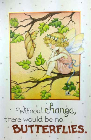 Butterflies Encouragement Card