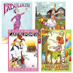 Birthday Card Bundle, 8 assorted