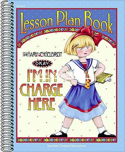 I'm in Charge Lesson Plan Book
