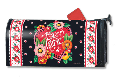Valentine Be Mine Mailbox Cover
