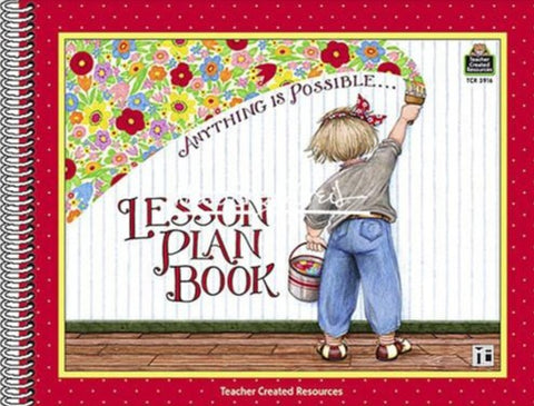 """Anything is Possible"" Lesson Plan Book"